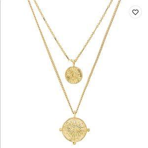 Luv AJ X Revolve Coin Necklace